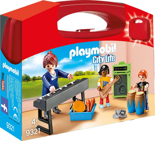 Music Class Carry Case Building Set