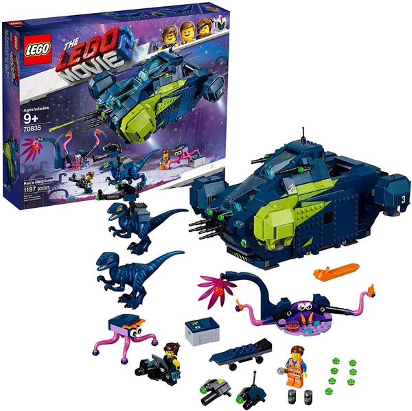 LEGO 70835: LEGO Movie 2: Rex's Rexplorer! (1187 Pieces)