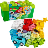 Lego Duplo Classic Brick Box 10913 First Set With Storage Box, Great Educational Toy For Toddlers 18 Months And Up, New 2020 (65 Pieces)-Kidding Around NYC
