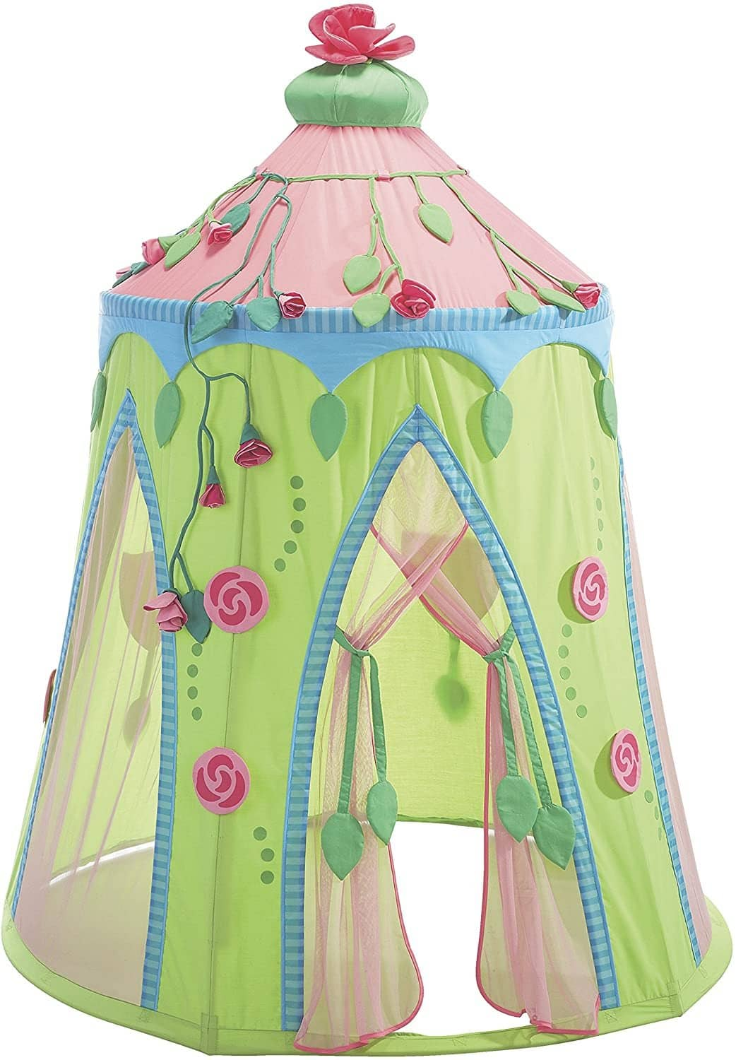 Rose Fairy Roomy Indoor Play Tent - Stands 75 Inches Tall-Kidding Around NYC