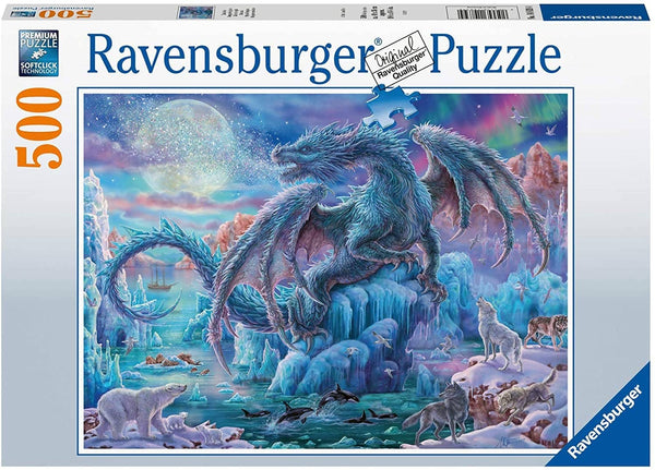 Ravensburger 14839: Mystical Dragons (500 Piece Jigsaw Puzzle)