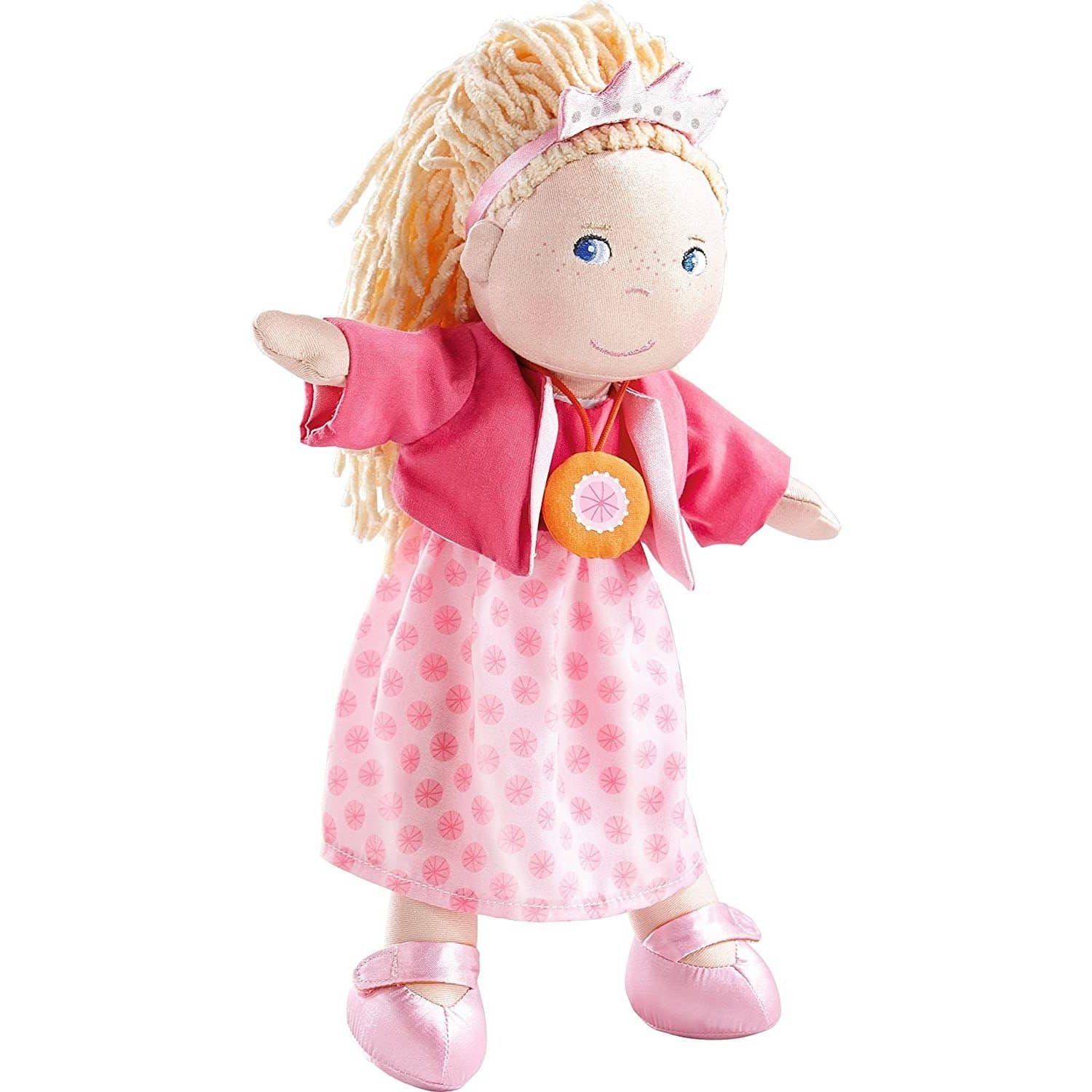 "Princess Rosalina 12"" Soft Doll With Blonde Hair And Blue Eyes-Kidding Around NYC"