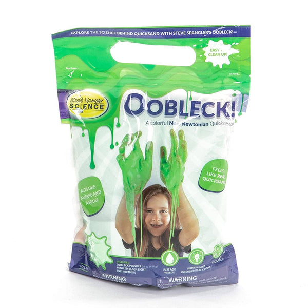 Green Oobleck-Kidding Around NYC