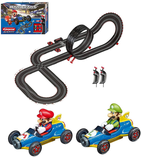 Carrera Go!!! 62492 Mario Kart Electric Slot Car Racing Track Set 1:43-Kidding Around NYC