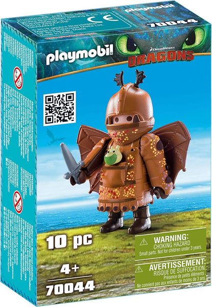 PLAYMOBIL : Dragons Fishlegs with Flight Suit