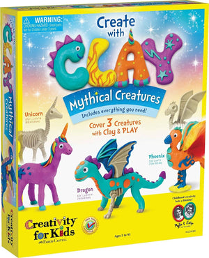 Create with Clay: Mythical Creatures-Kidding Around NYC