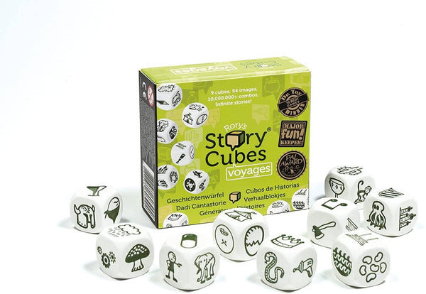 Rory's Story Cubes: Voyage-Kidding Around NYC