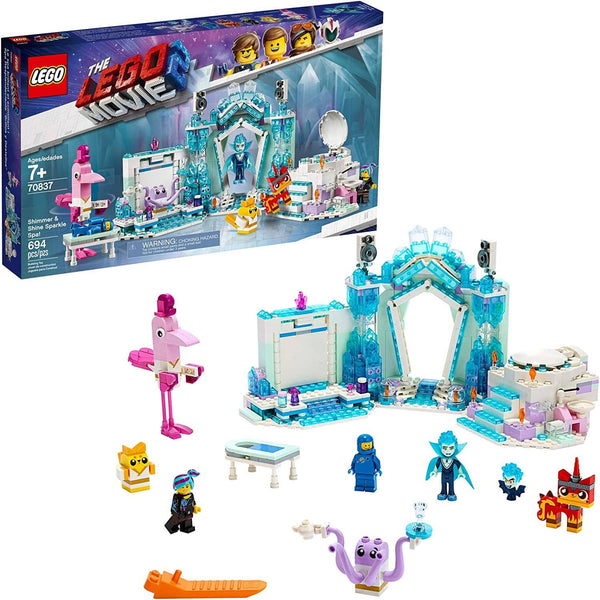 LEGO 70837: LEGO Movie 2: Shimmer & Shine Sparkle Spa! (694 Pieces)-Kidding Around NYC