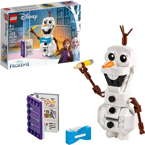 Lego Disney Frozen Ii Olaf 41169 Olaf Snowman Toy Figure Building Kit Christmas Gift (122 Pieces)-Kidding Around NYC