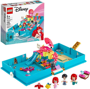 LEGO 43176: Disney: Ariel's Storybook Adventures (105 Pieces)-Kidding Around NYC