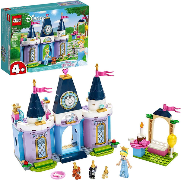 LEGO 43178: Disney: Cinderella's Castle Celebration (168 Pieces)-Kidding Around NYC