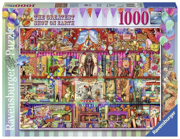 Ravensburger The Greatest Show on Earth (1000 Piece Jigsaw Puzzle)-Kidding Around NYC