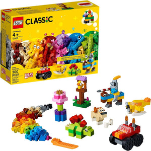 LEGO 11002: Classic: Basic Brick Set (300 Pieces)-Kidding Around NYC