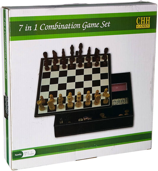 7-In-1 Combination Game Set-Kidding Around NYC
