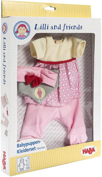 "Bonny Baby Doll Dress Set For 13"" Dolls-Kidding Around NYC"