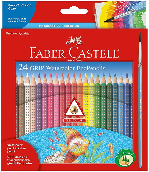 24 Ct Grip Watercolor Ecopencils-Kidding Around NYC