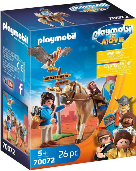 Playmobil the Movie: Marla With Horse (70072)-Kidding Around NYC