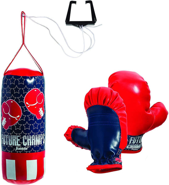 Franklin Sports: Future Champs Punching Bag and Glove Set