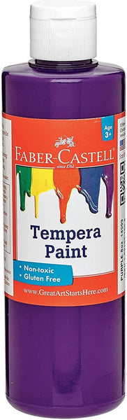 Purple Tempera Paint