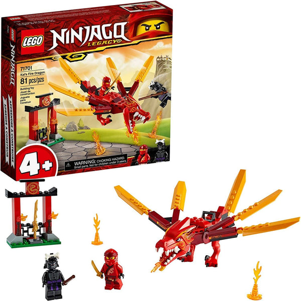 LEGO 71701: NINJAGO: Kai's Fire Dragon (81 Pieces)-Kidding Around NYC