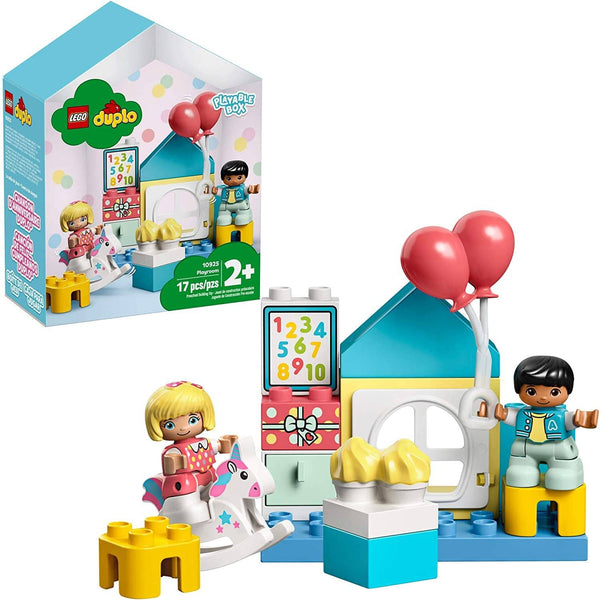 LEGO DUPLO Town Playroom 10925 Kids' Pretend Play Set, Developmental Toy for Toddlers, Great First Set, New 2020 (16 Pieces)