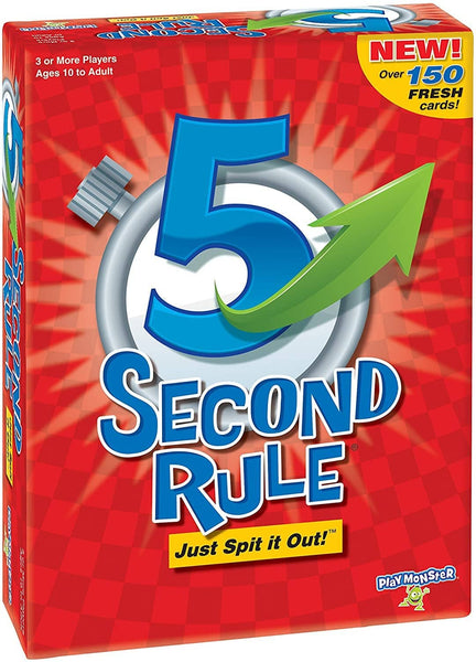 5 Second Rule Game 2Nd Edition-Kidding Around NYC