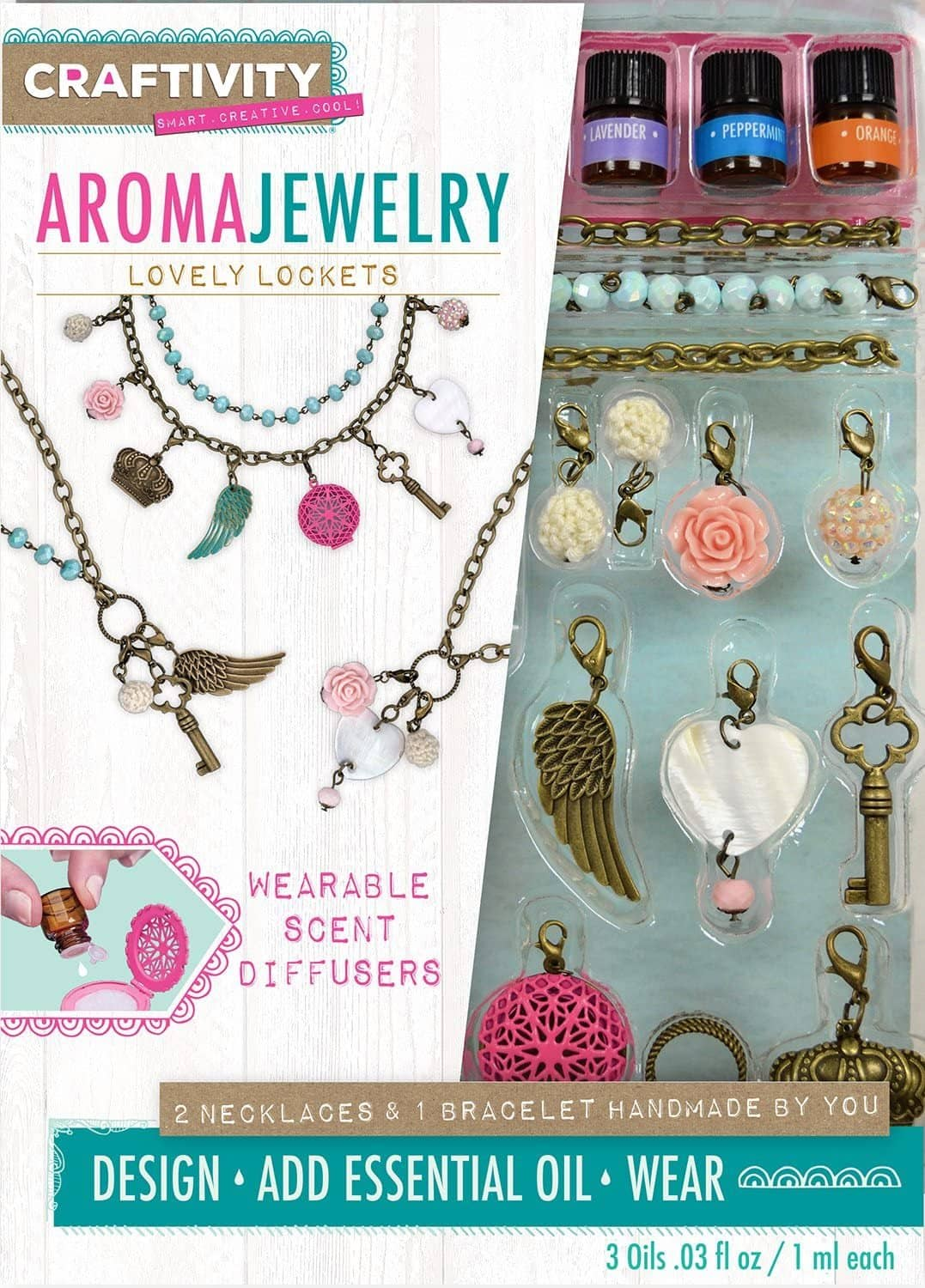 Lovely Lockets Aroma Jewelry-Kidding Around NYC
