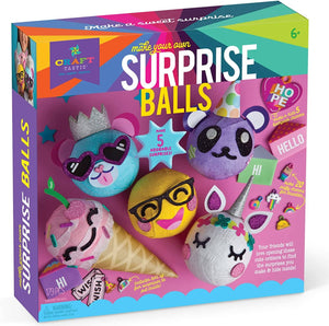 Make Your Own Surprise Balls-Kidding Around NYC