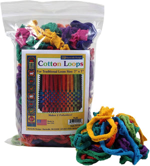 Multicolor Cotton Loops Potholder Loom Refills-Kidding Around NYC