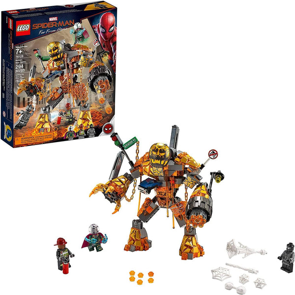 LEGO 76128: Marvel: Spider-Man Far From Home: Molten Man Battle (294 Pieces)-Kidding Around NYC