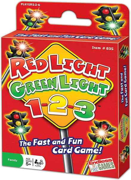 Red Light Green Light 1-2-3 Card Game