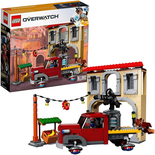 Lego Overwatch Dorado Showdown 75972 Building Kit (419 Pieces)