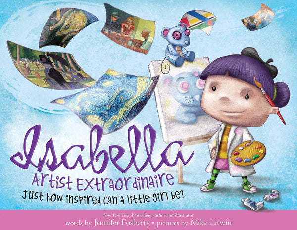 Isabella: Artist Extraordinaire (Hardcover)-Kidding Around NYC