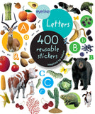 Letters Sticker Book With 400 Reusable Stickers
