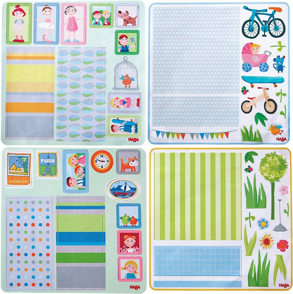 HABA Little Friends Dollhouse Decor Decals