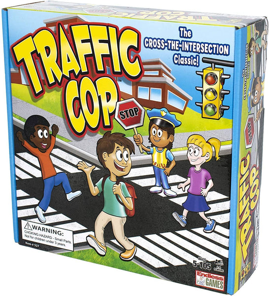 Traffic Cop Game-Kidding Around NYC