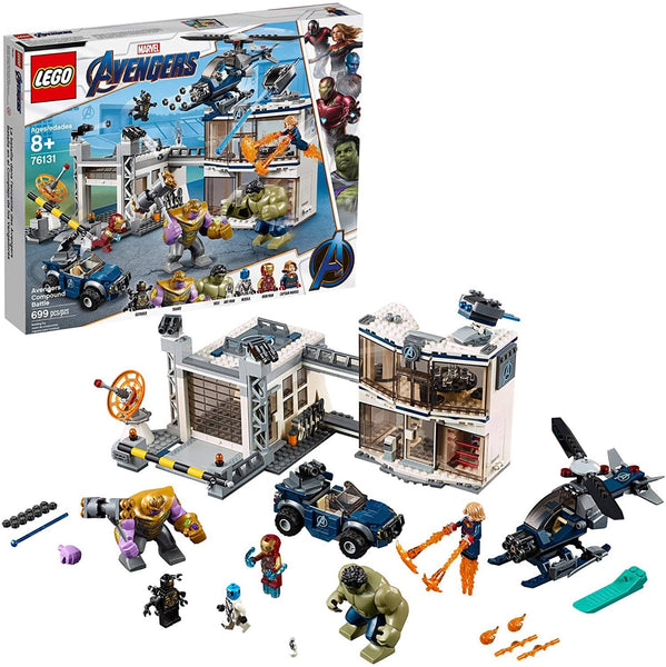 LEGO 76131: Marvel: Avengers: Compound Battle (699 Pieces)-Kidding Around NYC