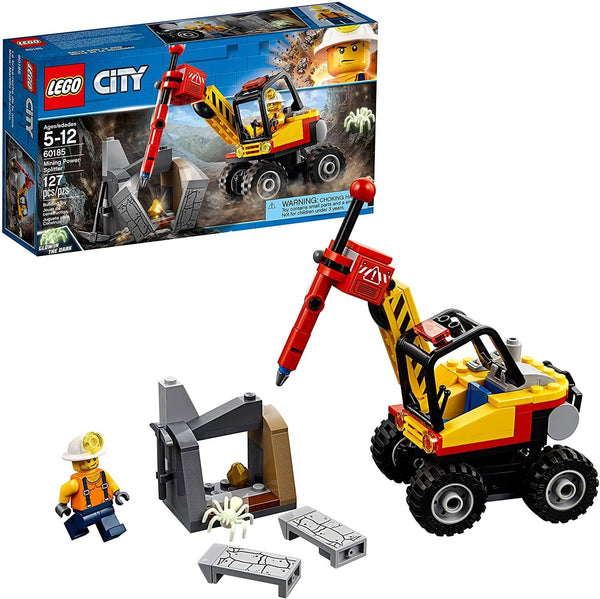 LEGO 60185: City: Mining Power Splitter (127 Piece)-Kidding Around NYC