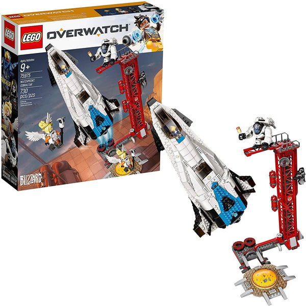 LEGO 75975: Overwatch: Watchpoint: Gibraltar (730 Pieces)-Kidding Around NYC
