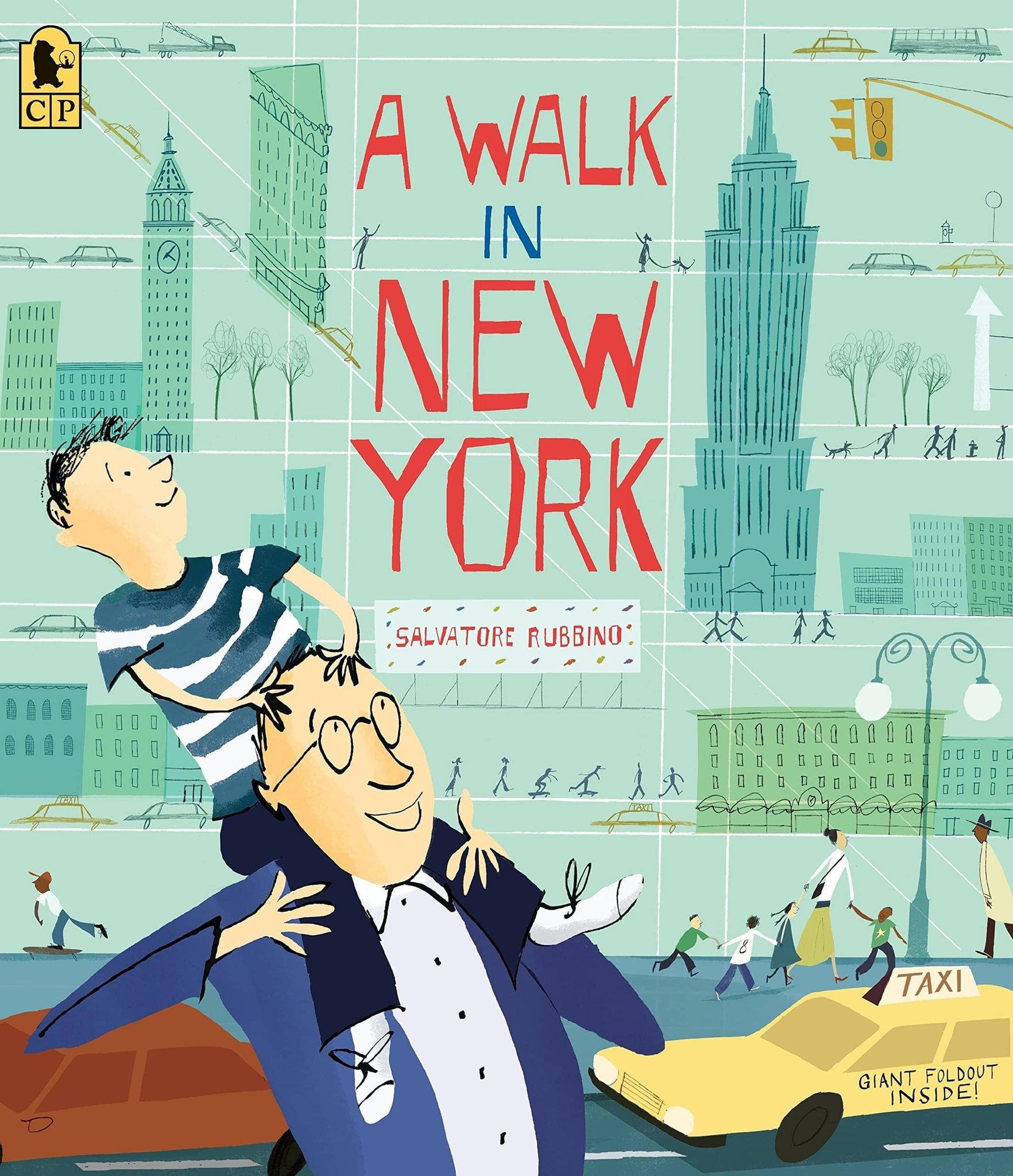 A Walk In New York (Hardcover)-Kidding Around NYC