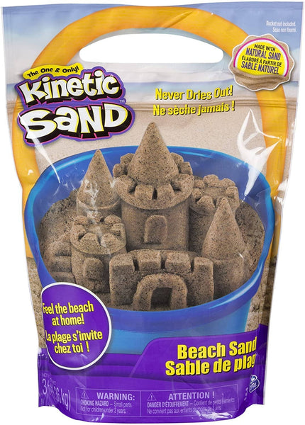 Kinetic Sand Beach Sand 3Lb-Kidding Around NYC
