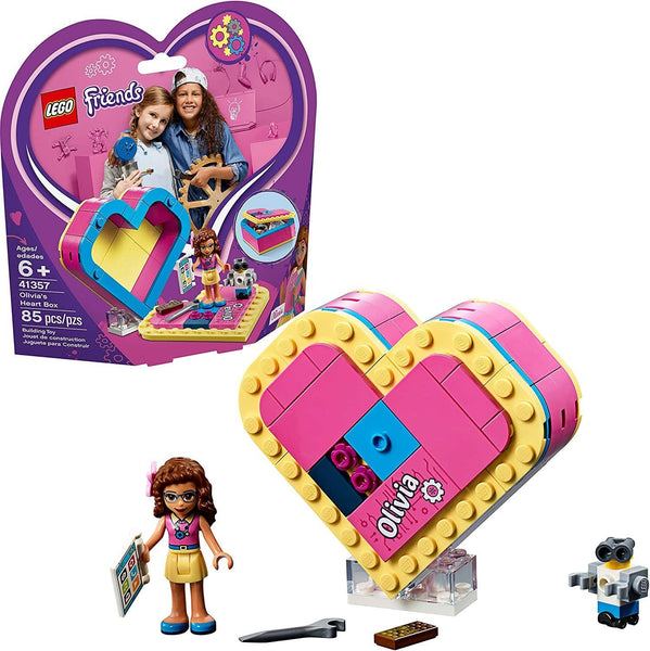 LEGO 41357: Friends: Olivia's Heart Box (85 Pieces)-Kidding Around NYC