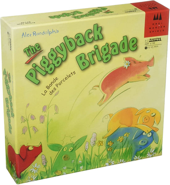 The Piggyback Brigade Game-Kidding Around NYC