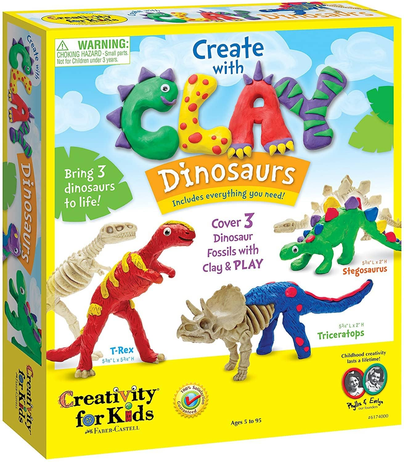 Create With Clay Dinosaurs-Kidding Around NYC