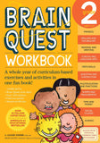 Brain Quest Workook Grade 2 (Paperback)