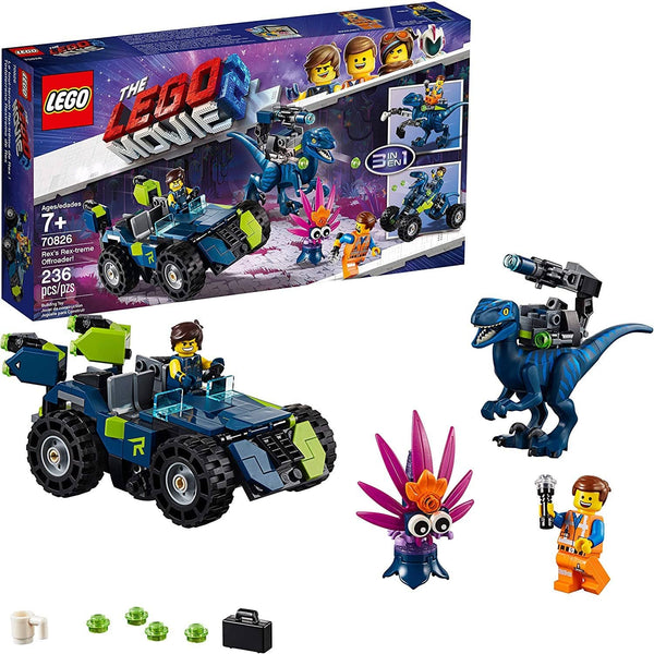 Lego Movie 2 Rex's Rex-Treme Offroader-Kidding Around NYC
