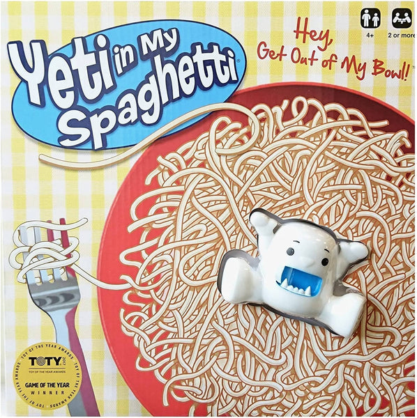 Yeti In My Spaghetti Game-Kidding Around NYC