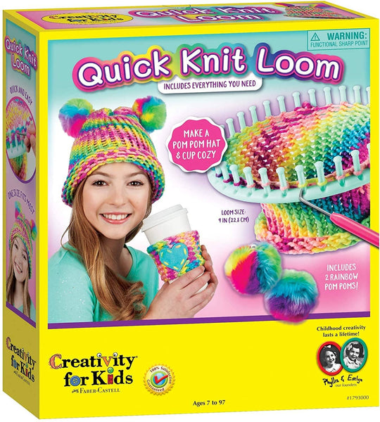 Quick Knit Loom-Kidding Around NYC