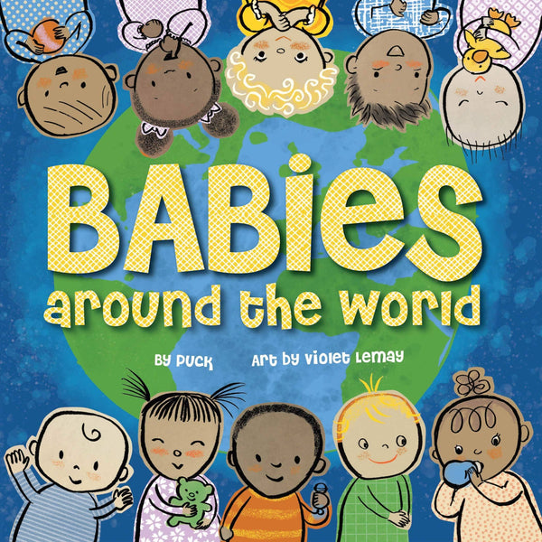 Babies Around The World (Board Book)-Kidding Around NYC