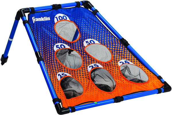 Franklin Sports: 6 Hole Cornhole Bean Bag Toss